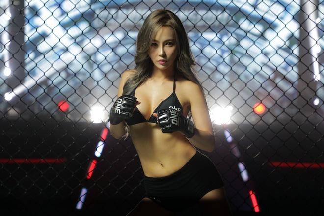 Lee Ji Na - 'Ring Girl' nong bong nhat lang One Championship hinh anh 4