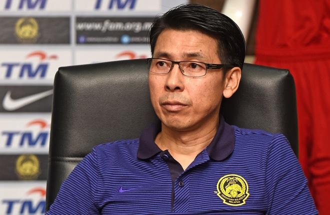 Thang nhoc DT Lao, HLV Malaysia van tu tin tuyen chien tuyen Viet Nam hinh anh 1