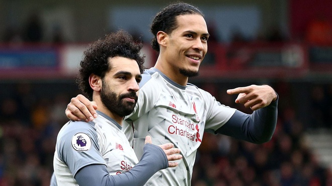 Bournemouth vs Liverpool (0-4): Salah ghi ban an tuong, lap hat-trick hinh anh