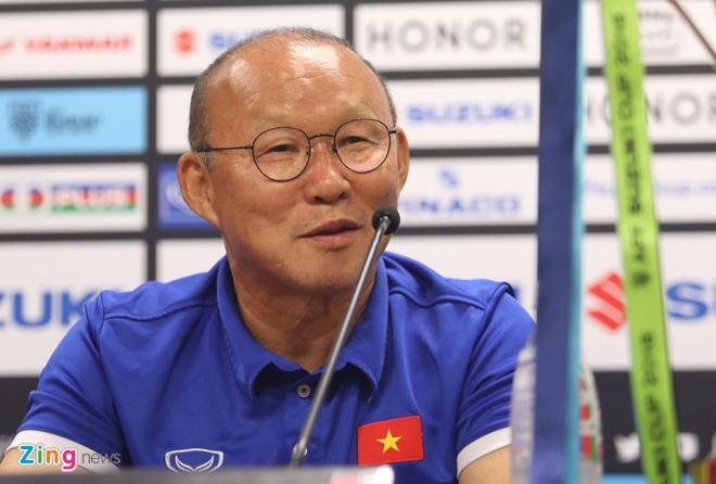 Phong vien Han Quoc bat ngo truoc thanh cong cua ong Park Hang-seo hinh anh
