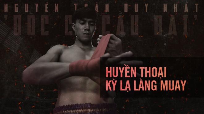 Dai chien Muay Thai: 'Doc co cau bai' Duy Nhat dau vo si Thai Lan hinh anh