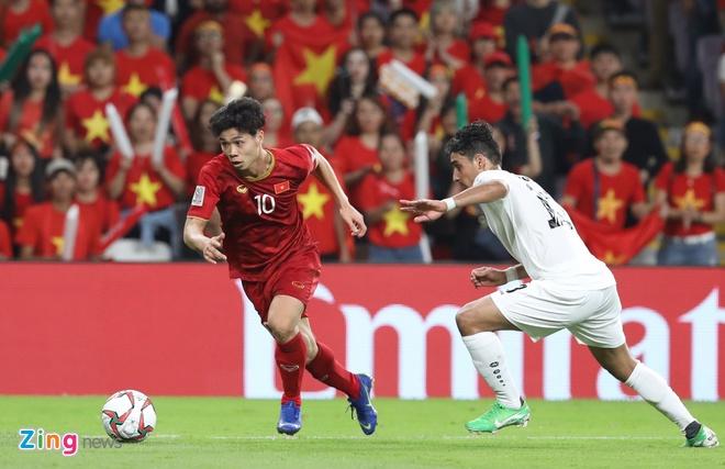 Công Phượng góp 1 nửa số bàn thắng của Việt Nam ở Asia
