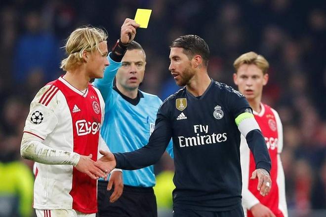 David Beckham, Sergio Ramos va nhung tam the vang hai doi hinh anh 2