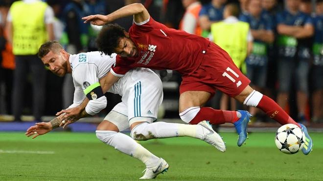 Sergio Ramos duoc doi thu khen la 'hau ve tu te nhat' hinh anh 1
