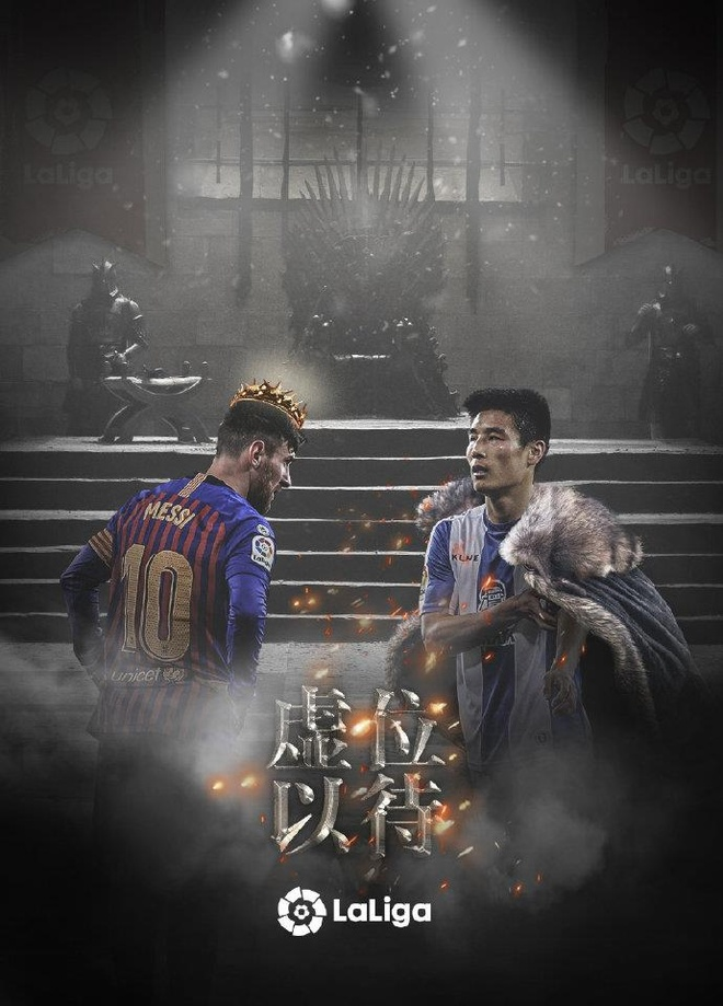 Wu Lei va tran derby voi Messi tao con sot o Trung Quoc hinh anh 2