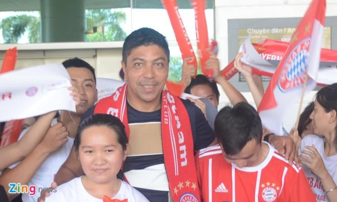 Fan Sai Gon nong nhiet chao don huyen thoai Bayern Munich hinh anh