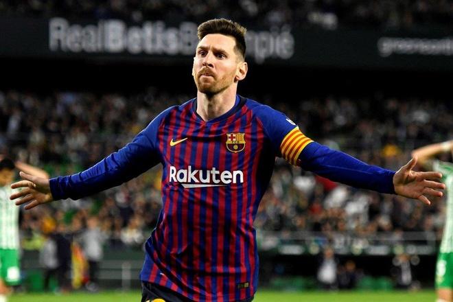 Messi la su khac biet o Champions League anh 1
