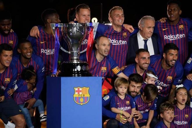 Barca sap duoc huong dac quyen chua tung co tai La Liga hinh anh 1