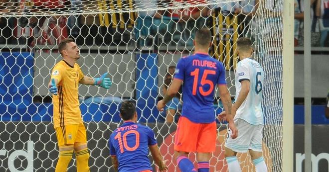 Tuyen Argentina lo lang cho vi tri thu mon o Copa America hinh anh 1