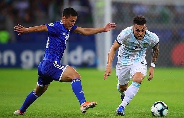 Noi bo tuyen Argentina bat on sau tran hoa Paraguay hinh anh 1