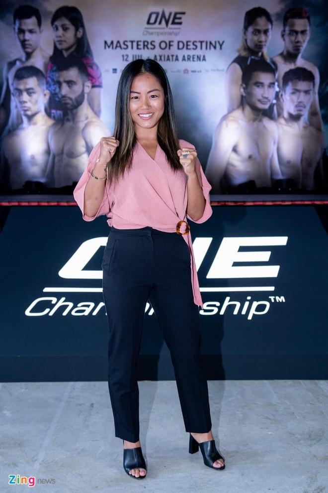 Nu vo si MMA Bi Nguyen muon dai dien Viet Nam dau o moi san choi hinh anh 2
