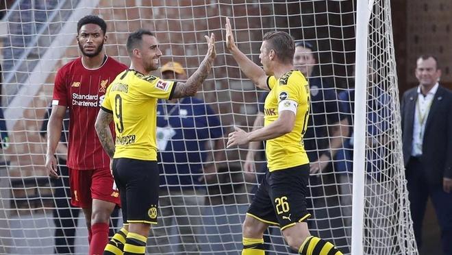 Liverpool guc nga truoc Dortmund tren dat My hinh anh