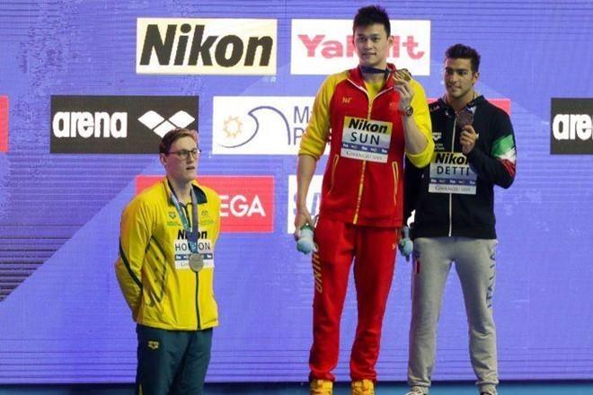 Sun Yang: 'Michael Phelps khong the so sanh duoc voi toi' hinh anh 2