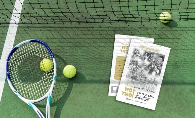 Ra mắt sách về 100 năm quần vợt Việt Nam