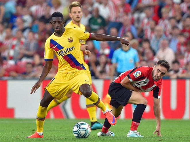 Dembele coi thuong ky luat o Barca hinh anh 1