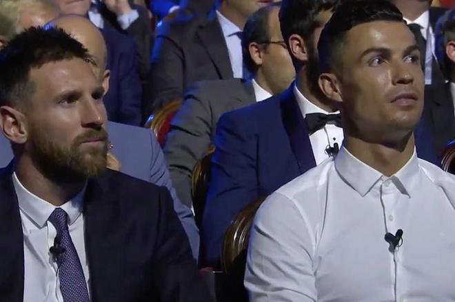 Ronaldo hung ho voi giai thuong cua Messi hinh anh 1