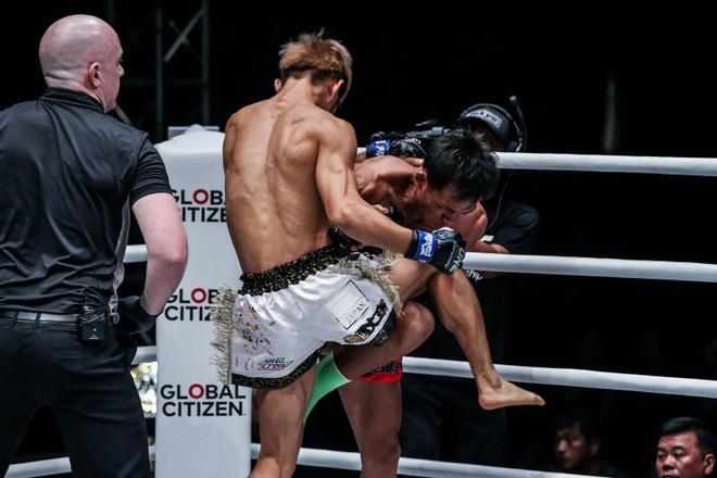 Huyen thoai Muay Thai Lan bi knock-out sau 41 giay hinh anh 1