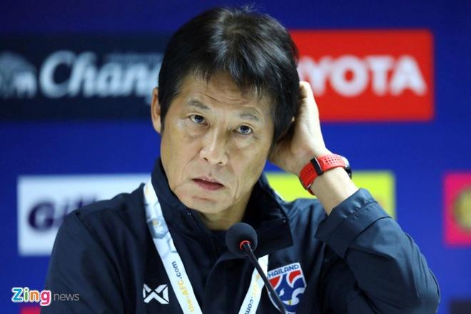 Suc ep phai thang Indonesia de nang len vai HLV Thai Lan hinh anh 1