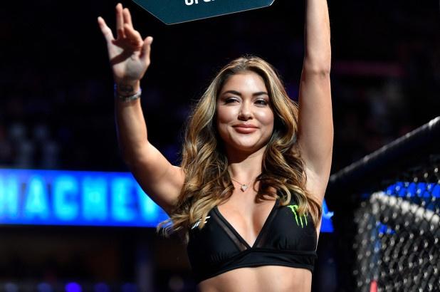 Ring Girl co the bi loai khoi UFC 243 hinh anh 2