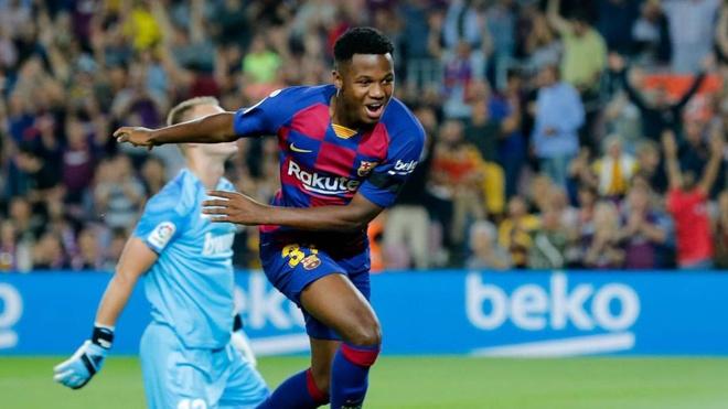 Barca sắp tăng lương cho tiền đạo 16 tuổi lên 1 triệu euro/năm