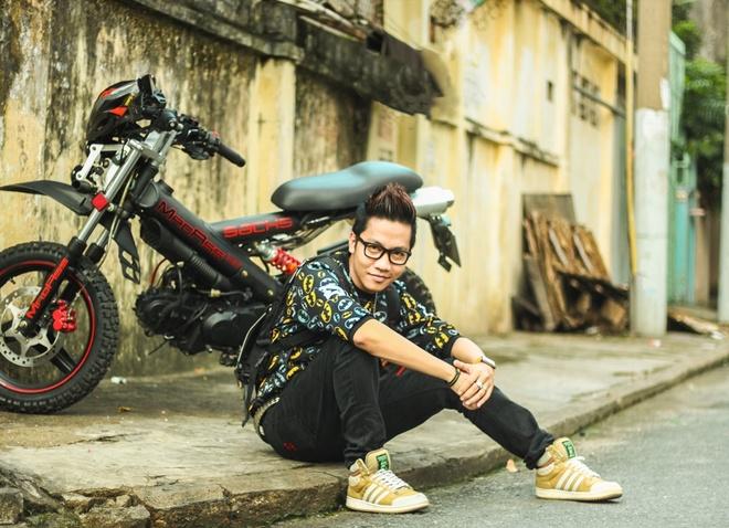 Hoang Rapper: 'Tin do nhac dien tu rat sung va van minh' hinh anh 1