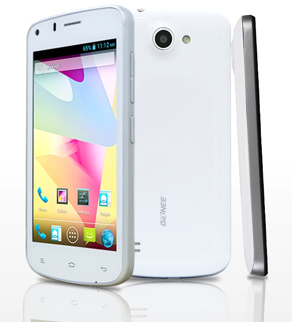 Gionee Pioneer P3 - smartphone gia re dang mua dip dau nam hinh anh