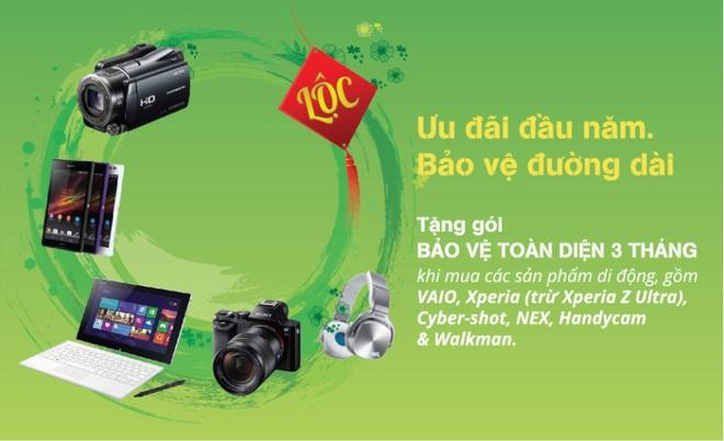Sony tri an khach hang voi 'Uu dai dau nam' hinh anh