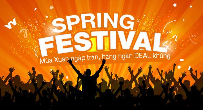 Thoa suc mua sam voi Spring Festival cua Lazada.vn hinh anh
