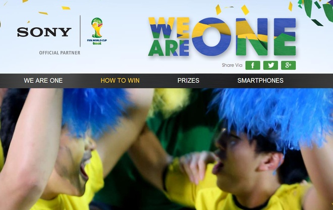 Con sot FIFA World Cup bat dau voi 'We Are One' cua Sony hinh anh