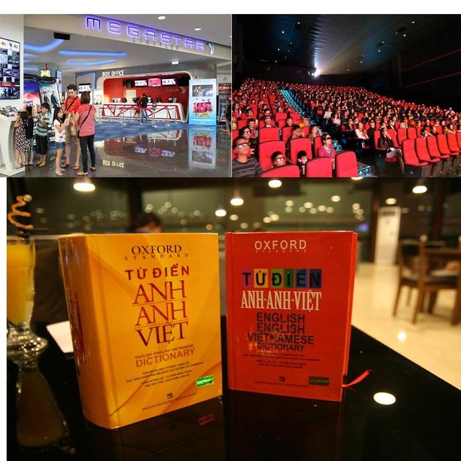 Phần thưởng là cặp vé xem phim và cuốn từ điển giành cho người đạt giải.