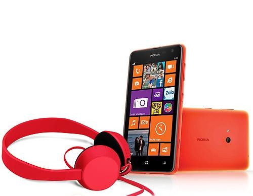 Bo doi tai nghe hoan hao cho  Lumia 925 va Lumia 625 hinh anh