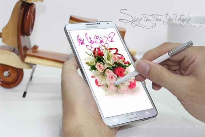 Ban co du lang man de nhan Galaxy Note 3 va Galaxy Gear? hinh anh