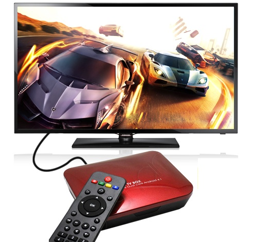Android TV box bien tivi thanh smart TV cong nghe 4K hinh anh