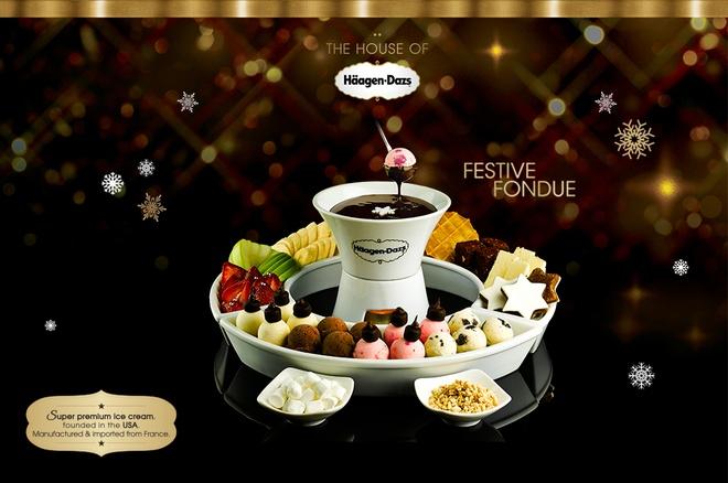 Haagen-Dazs va nhung mon qua Noel hoan hao hinh anh