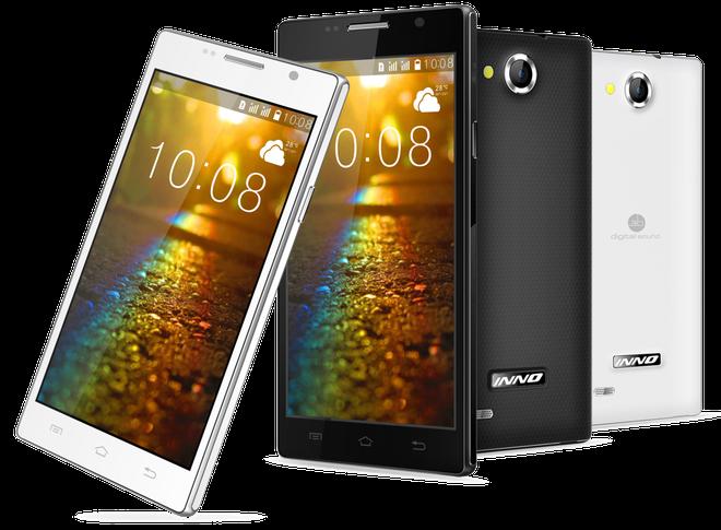 Inno Mobile cho ra mat bo doi smartphone 3G hinh anh