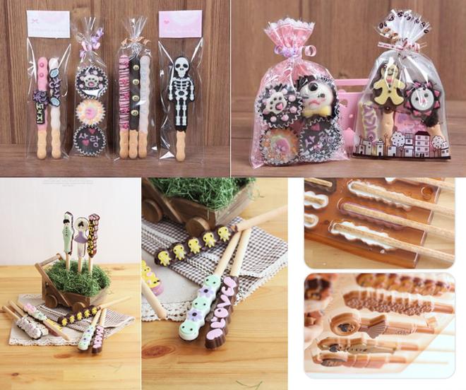 Lam qua Valentine voi chocolate hand-made tu Han Quoc hinh anh
