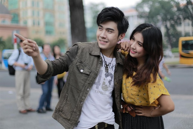 Hot boy lai Thai Kazen ra mat MV dau tay hinh anh