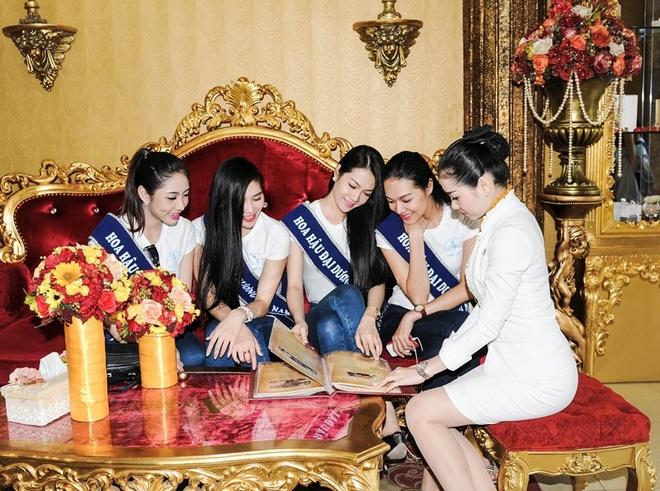 Thi sinh 'Hoa hau Dai duong' san sang cho dem chung ket hinh anh