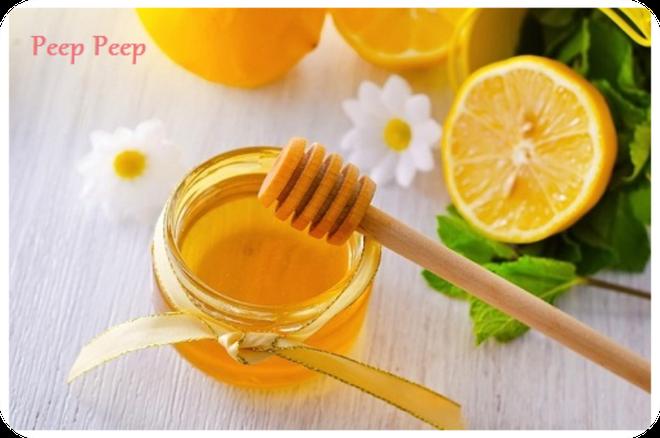 Chanh sa mat ong: thuc uong ngay mua hinh anh