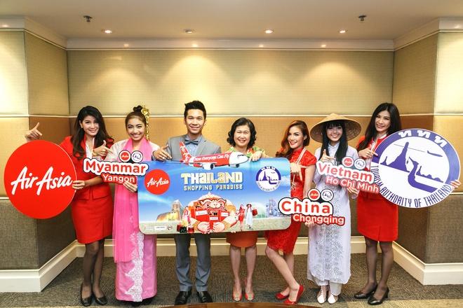 Den 'thien duong mua sam' Thai Lan cung AirAsia hinh anh