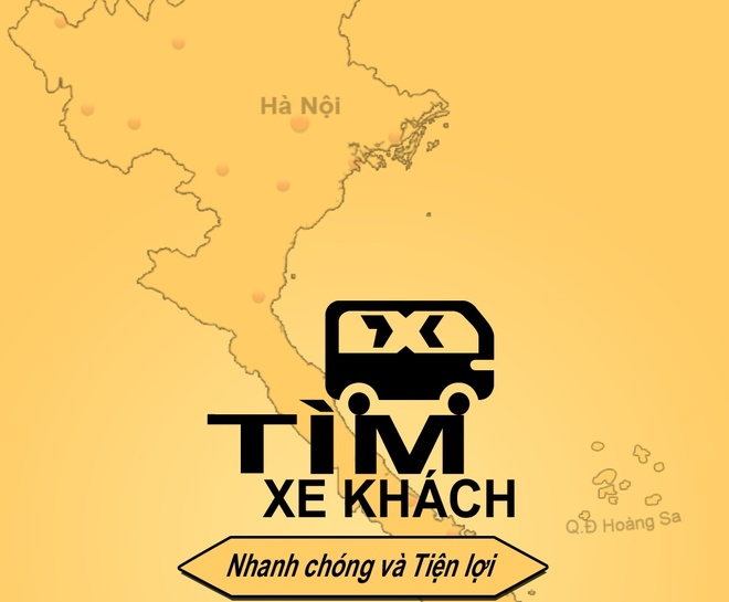 Ung dung tim xe khach trong 5 giay hinh anh