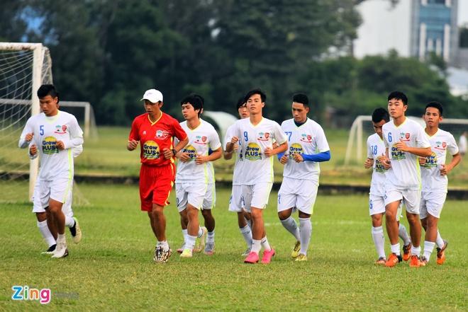 U21 HAGL tha long trong buoi tap sau tran thua U19 Han Quoc hinh anh 1