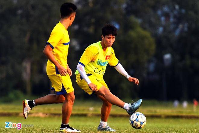 U21 HAGL tha long trong buoi tap sau tran thua U19 Han Quoc hinh anh 2