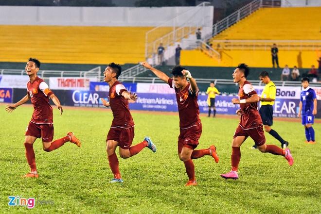 U21 Viet Nam thang dam U21 Thai Lan ngay ra quan hinh anh 11