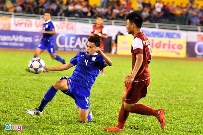 U21 Viet Nam thang dam U21 Thai Lan ngay ra quan hinh anh 1