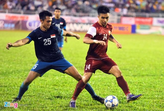 U21 VN cung U21 Singapore vao ban ket U21 Quoc te hinh anh 8
