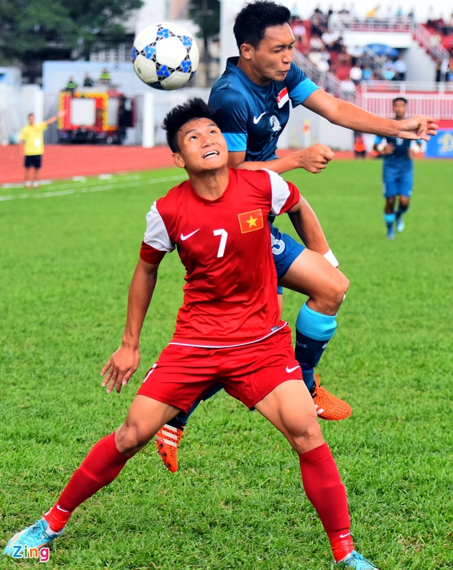 U21 VN cung U21 Singapore vao ban ket U21 Quoc te hinh anh 1