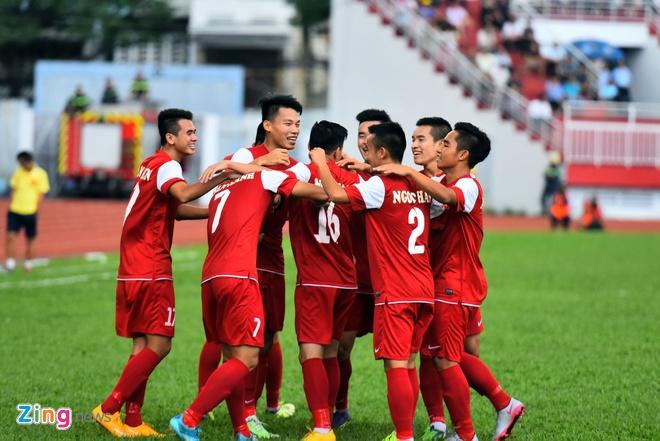 U21 VN cung U21 Singapore vao ban ket U21 Quoc te hinh anh 4