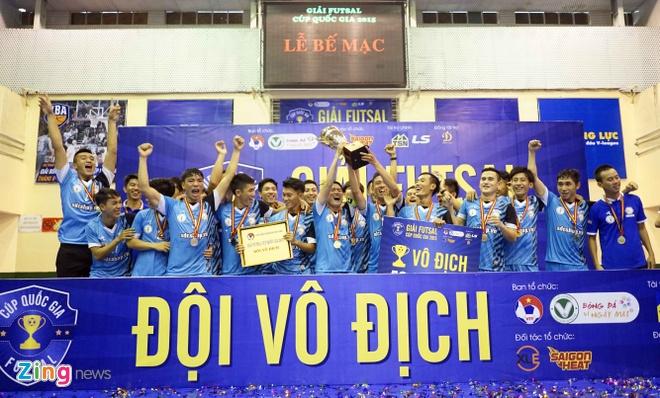 Loai nhieu doi thu manh, HPN vo dich giai Futsal Cup QG hinh anh 7