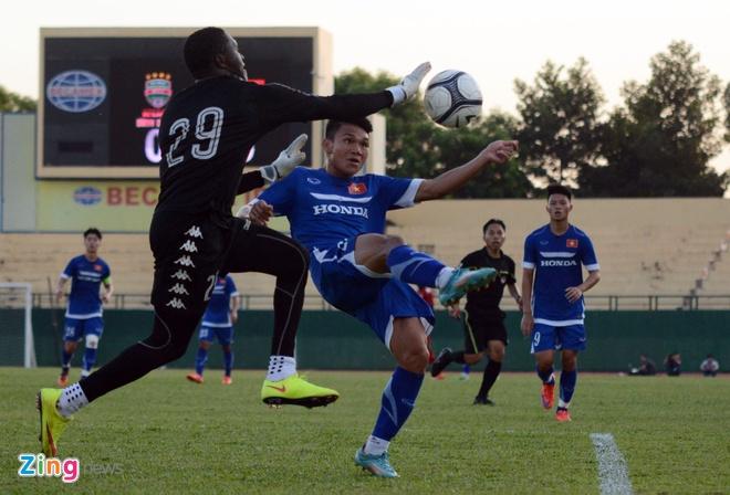 Cong Phuong kien tao, U23 VN hoa DKVD V.League hinh anh 10
